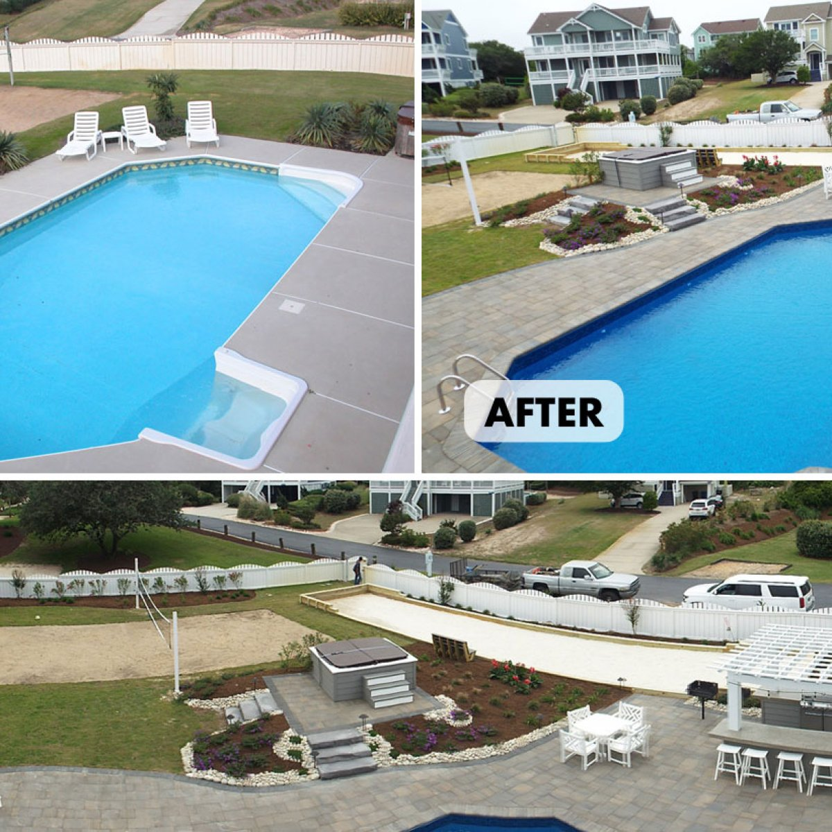 Before and After Pool & Patio